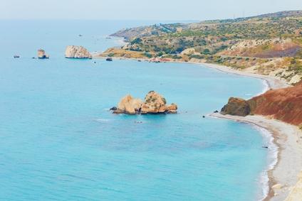 Die küste von Zypern